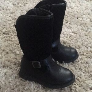 Carter's Toddler Girl Black Boots